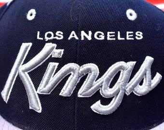 dc77fd08b4377 1990 s Los Angeles Kings Snapback Cap