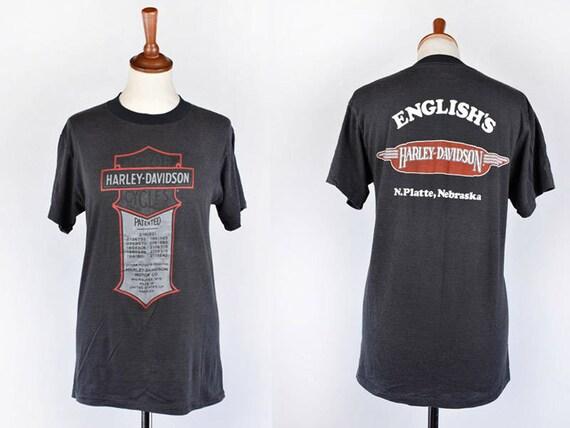 1970's Harley Davidson T-Shirt, English's Harley D