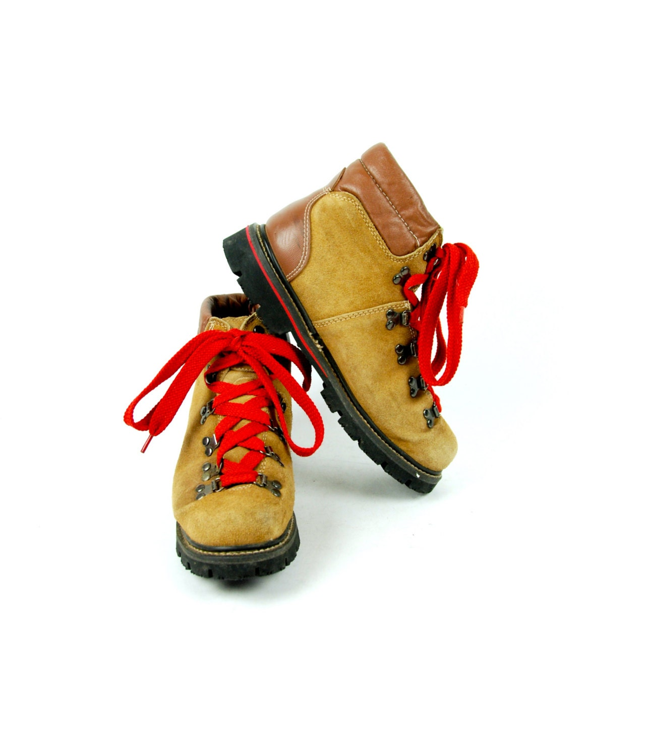 ab03227f9bc Vintage Suede Hiking Boots by Ozark Trail, Men's Size 8