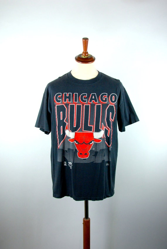 001b1dbce8e2ed Chicago Bulls T-shirt by Artex Made in the USA | Etsy