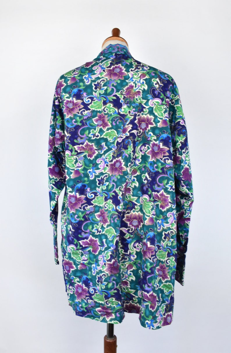 Flowy and Lightweight Colorful Batik Blouse