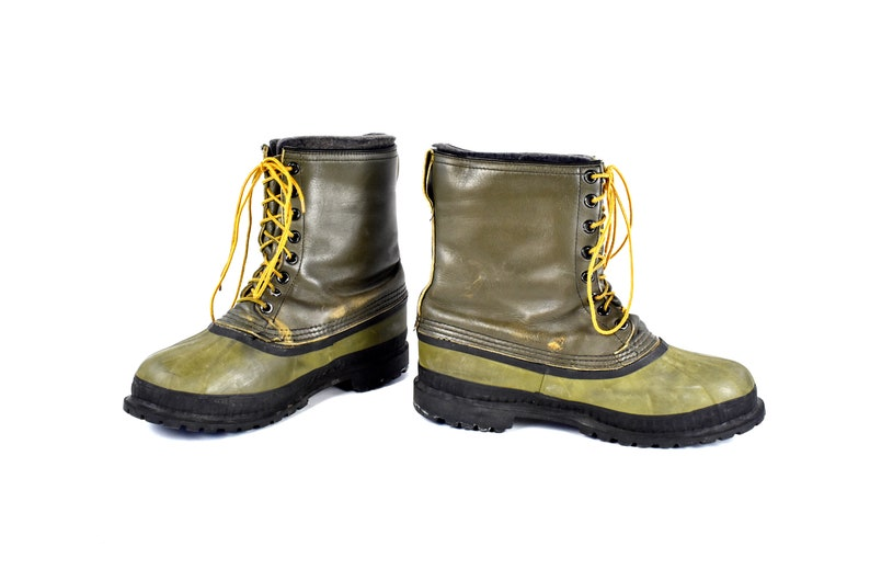51549209e592a Men's Vintage Mark V Sorel Kaufman All Weather Boots with Vibram Soles,  Made in Canada