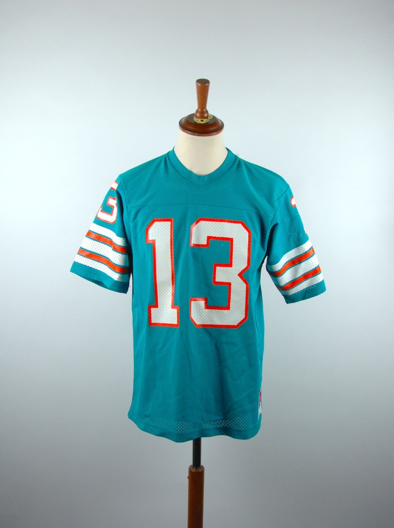 official photos 832e5 a8c48 Sand Knit Dan Marino Jersey, Officially Licensed Product, Size Large, Made  in USA