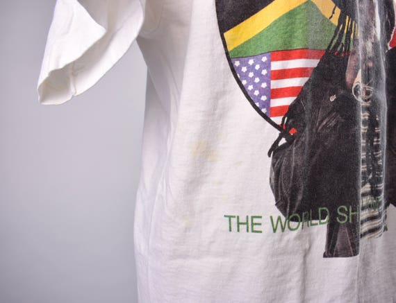 1993 burning Spear T-Shirt, taille XL, Made in in Made USA c2ca52