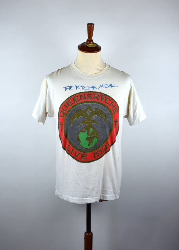 1ee57300f39 Queensrÿche - Building Empires 1991 Tour T-Shirt