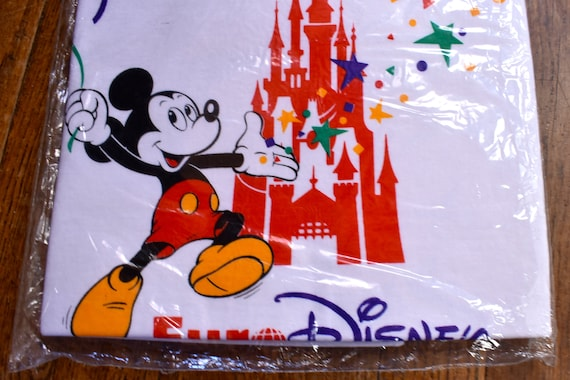 Deadstock EURO DISNEY T-Shirt, Wrapped and Still i