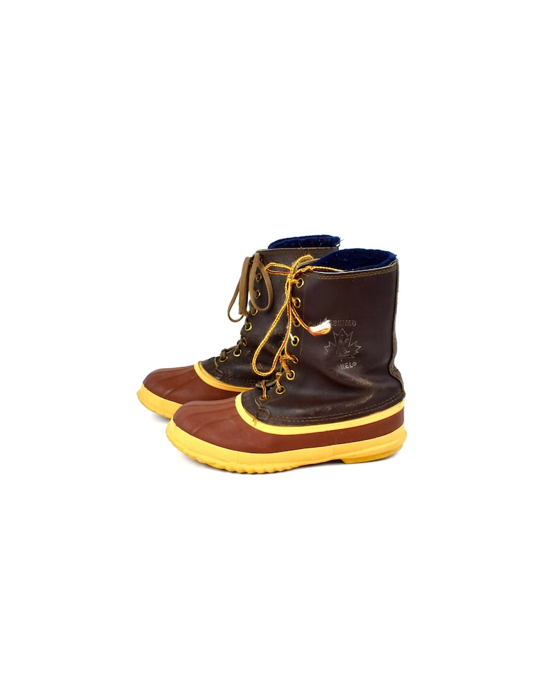 1094d2b4adc Vintage Sorel ESKIMO All Weather Boots, Made in Canada