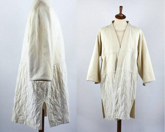 Vintage Sashiko Weave Robe, Judo Robe, Karate Robe