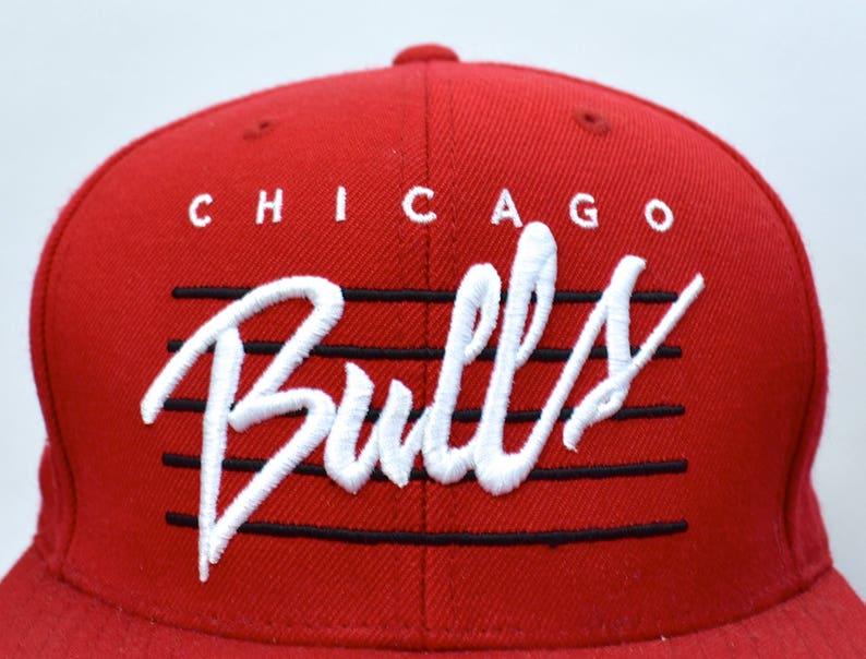 27e21613f344ae CHICAGO BULLS Snapback Cap