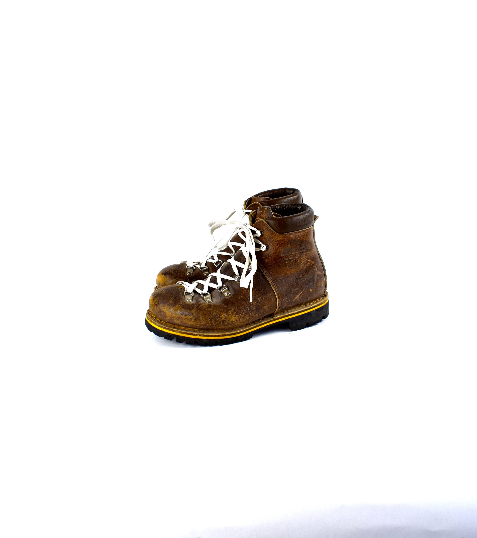 Vintage Raichle Hiking  botas  Made Made Made in Switzerland - Mujer tamaño 8.5 M Heritage  botas  079d06