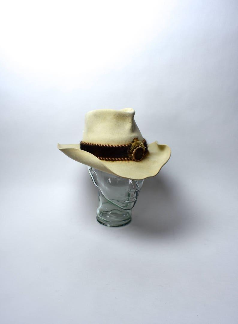 f718ef72363c2 RARE Caspel Twid 10X Beaver Outlaw Country Cowboy Hat