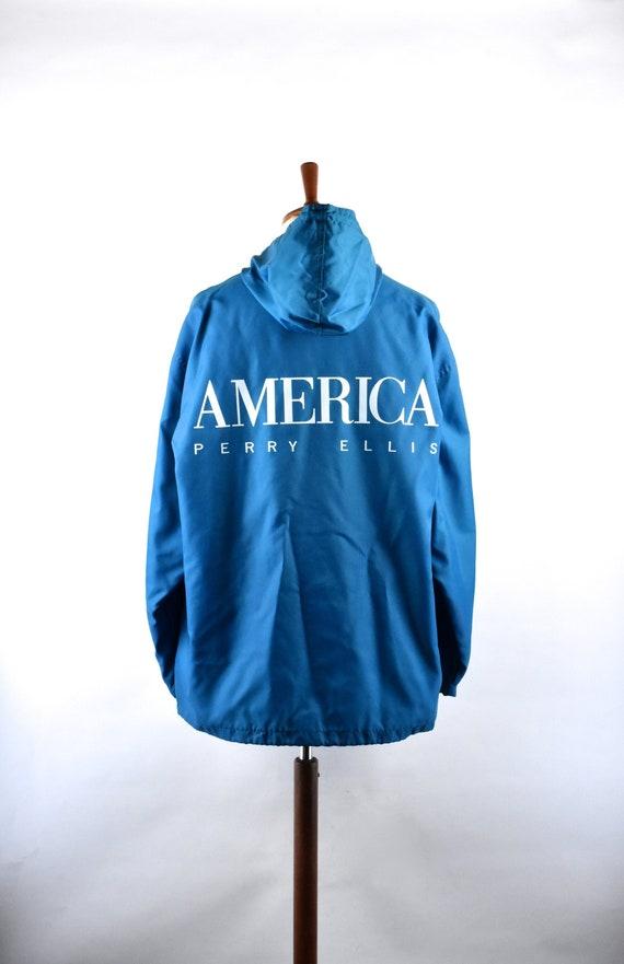 1990's Perry Ellis America Lightweight Hooded Jack