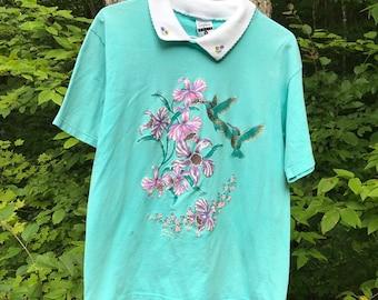 9d199fe1fbb3 Daffodil shirt | Etsy