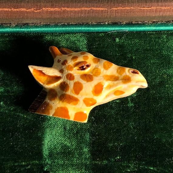 Brown Safari Crop Palazzo Pant 100/% Cotton Giraffe Print Culotte Vintage 80s Relaxed Fit Animal Print Cropped Pants