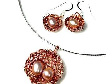 artisan jewelry upcycled repurposed earrings by blukatdesign