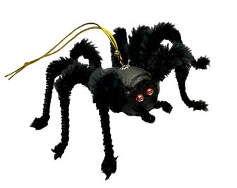 Wine Cork Spider Halloween Ornament, Tarantula Decoration