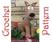 Simmon Dog A Crochet Pattern by Erin Scull