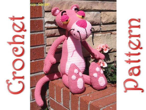 Pink Panther Crochet Tutorial Pt.1 - YouTube | 428x570