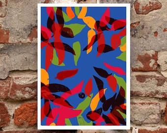 "Picante - kitchen art print - 11""x15"" - archival fine art giclée print"