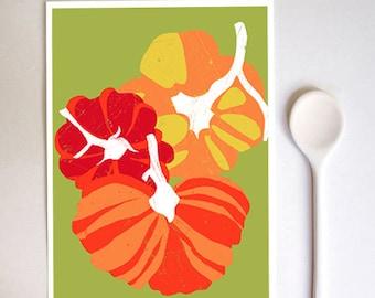 "Heirloom Tomatoes Art Print  8.3"" x 11.7"" - archival fine art giclée print"