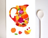 Spanish Wine Art  - Summer Sangria / high quality fine art print