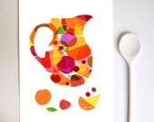 Spanish Wine Art  - Summer Sangria / high quality fine art print