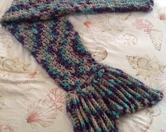 Children's Mermaid Tail Blanket