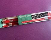 vintage EBERHARD FABER Box 6 ERASERS typewriter carbon Blaisdell Defiance sticks