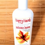 Scented Shea Butter Hand Cream - Autumn Leaves Fall Spice Fragrance - Happy Hands Natural Hand Lotion for Crafters Knitters Sewing Quilting