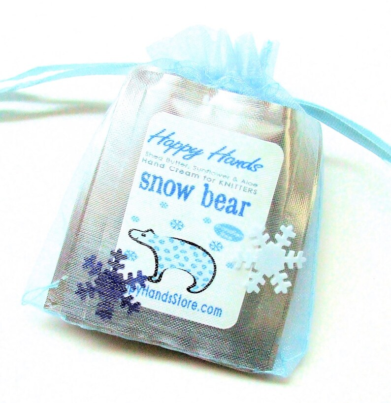 8-Scent WINTER Hand Cream Sampler Set HAPPY HANDS Scented Shea image 0