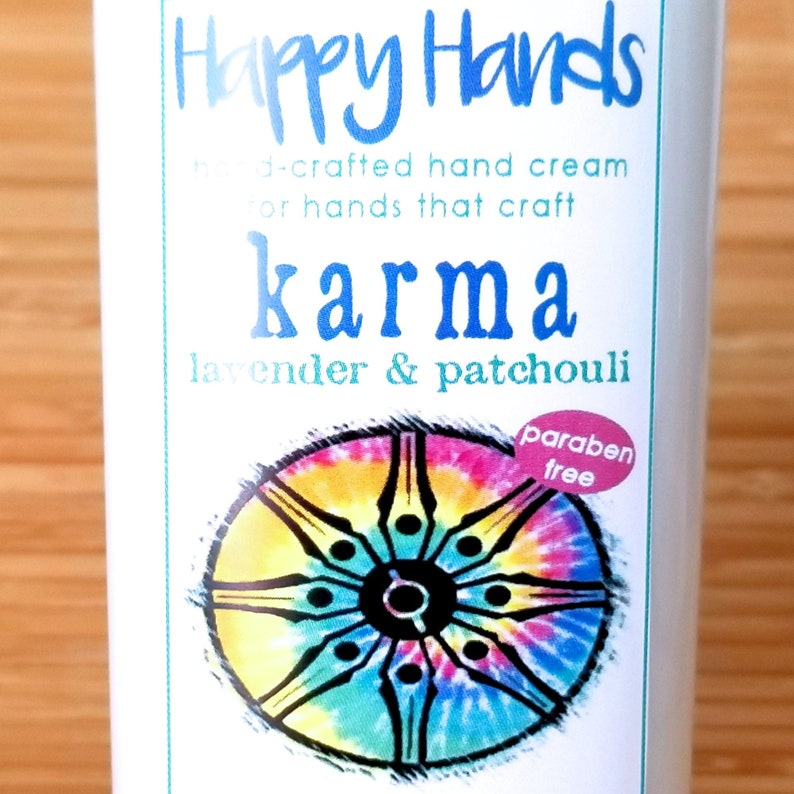 Scented Shea Butter Hand Lotion  Karma Lavender Patchouli image 0