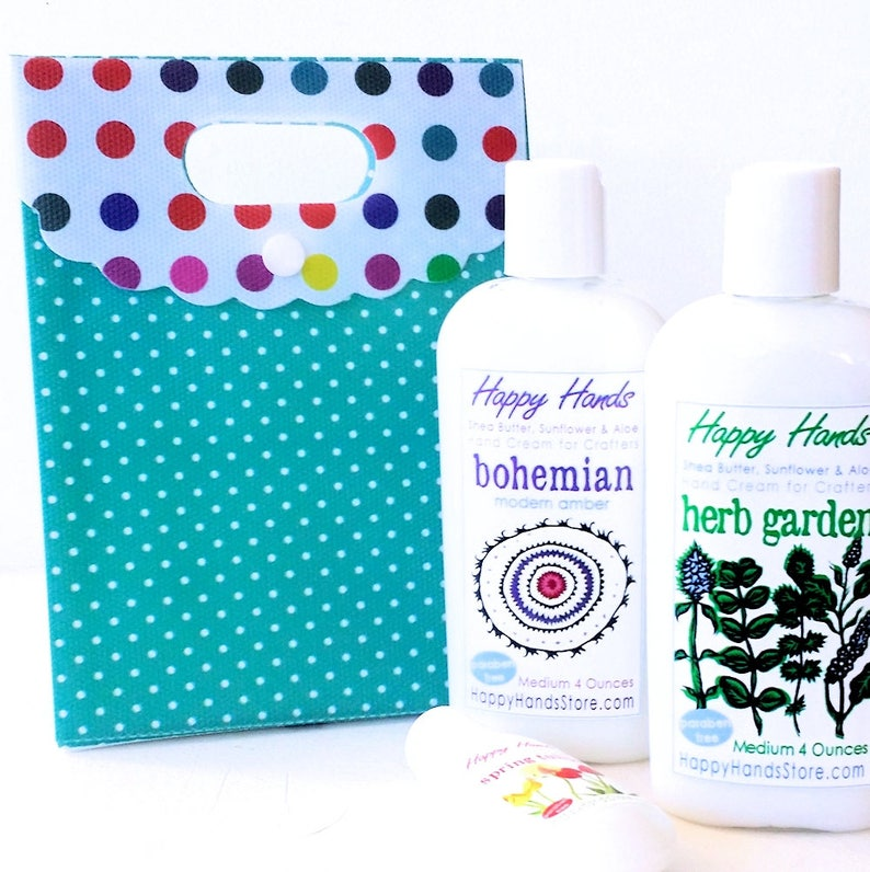 BOGO Hand Cream Gift Set Scented Shea Butter Lotion  2 Medium image 0