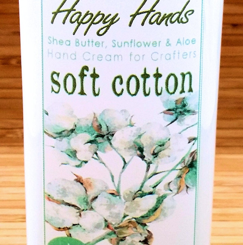 Scented Shea Butter Hand Lotion  Soft Cotton Light Clean image 0