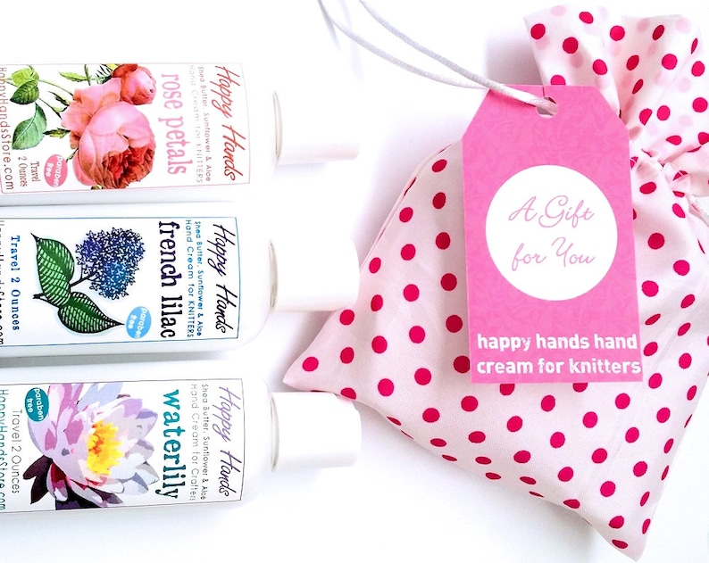 Hand Cream Travel Trio Gift Set  3 Bottles Assorted Scents image 0