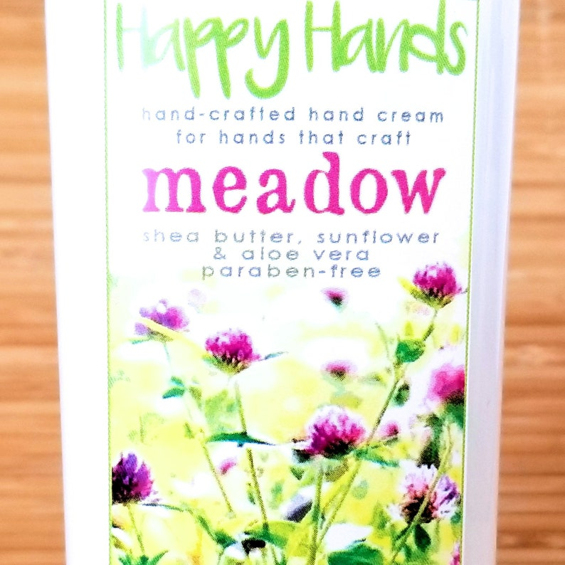 Scented Shea Butter Hand Cream  Meadow Light Fresh Gender image 0