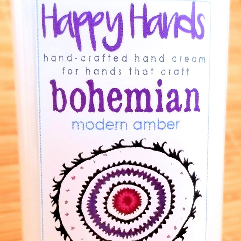 Scented Shea Butter Hand Lotion  Bohemian Modern Amber image 0
