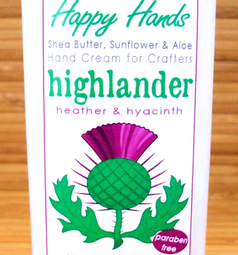 Scented Shea Butter Hand Lotion  Highlander Heather Hyacinth image 0