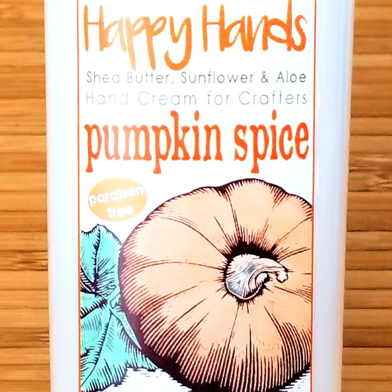 Scented Shea Butter Hand Cream  Pumpkin Spice Holiday image 0