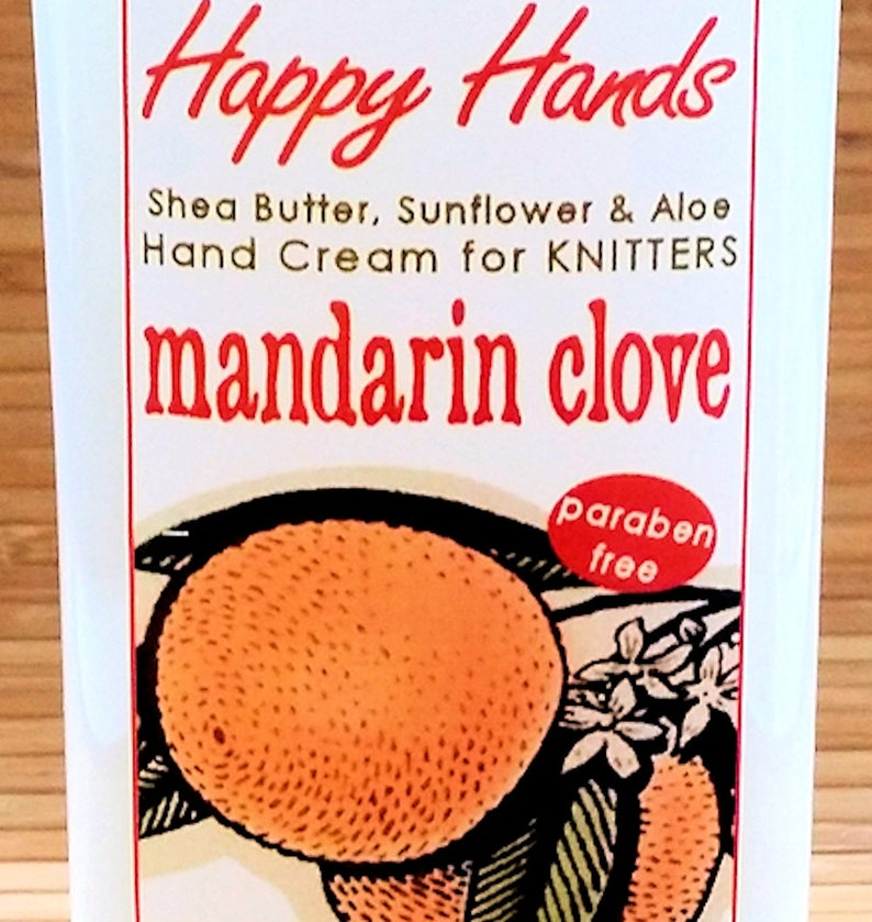 Scented Shea Butter Hand Cream  Mandarin Orange Clove Spice image 0