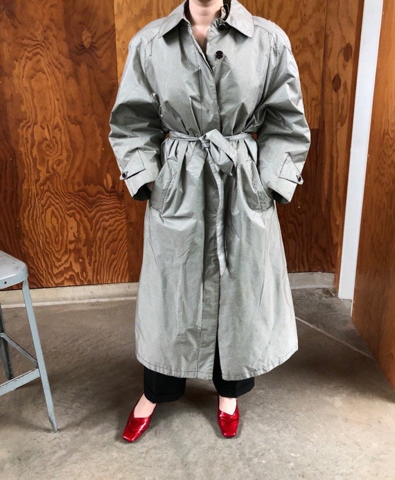 1990's oversized trench | raincoat | coat | jacket