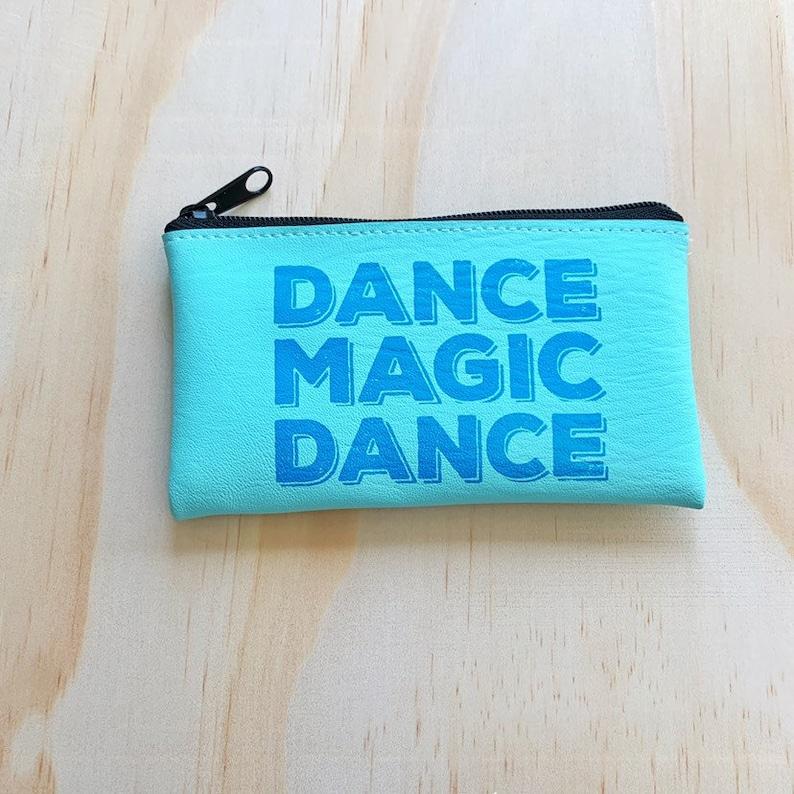 Dance Magic Dance David Bowie Change Purse Wallet Vegan makeup image 0