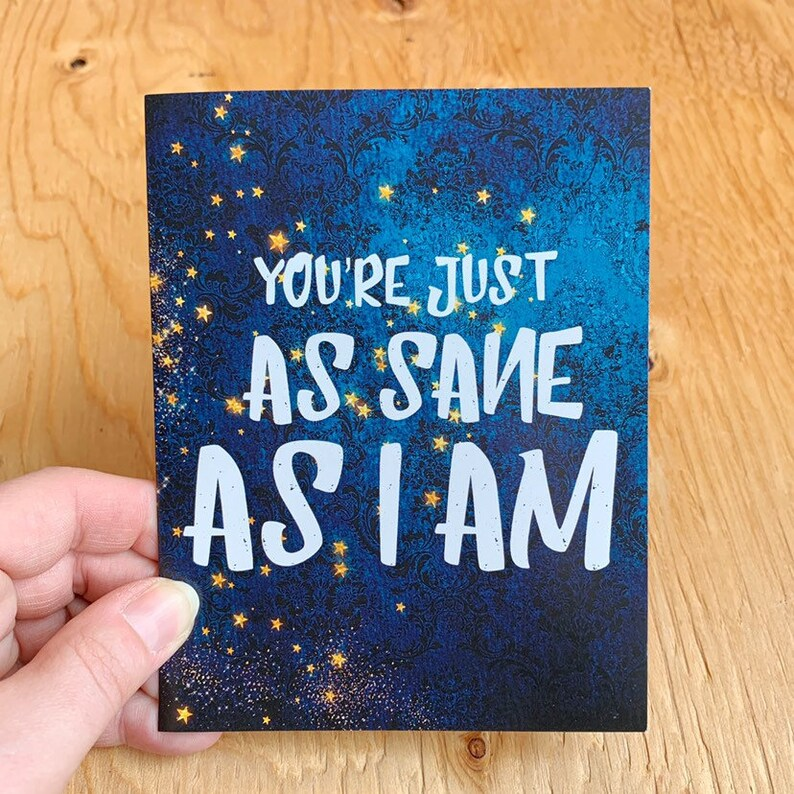 Luna Lovegood Quote Card Print image 0