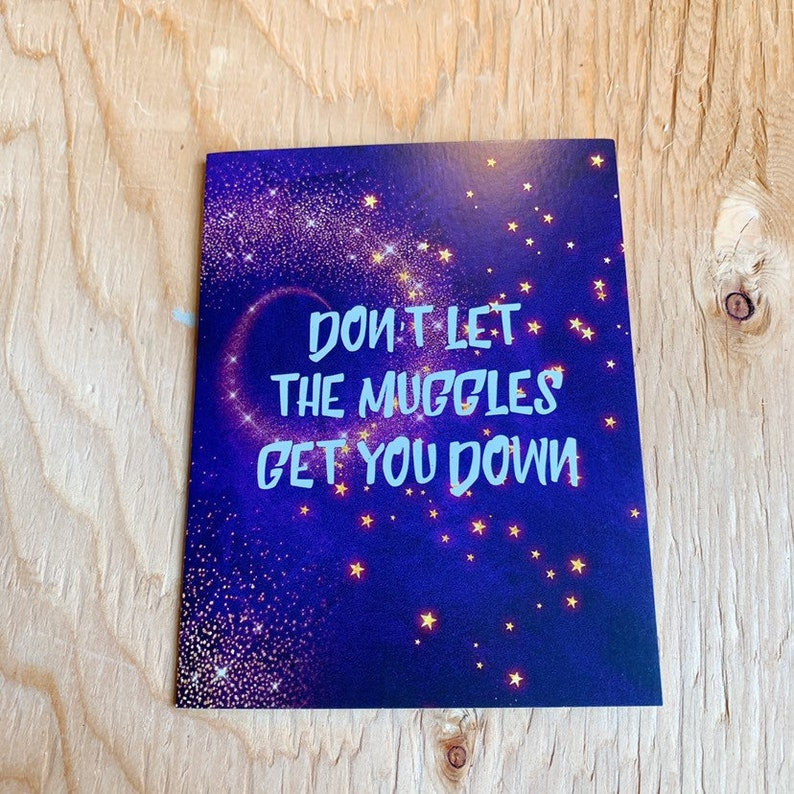 Ron Weasley Quote Card Print image 0