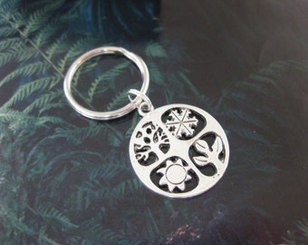 Four Seasons Key Ring
