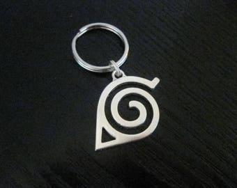DS Naruto Leaf Symbol Key Ring