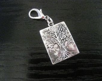 Tree of Life Midori Journal Planner Clip On Charm