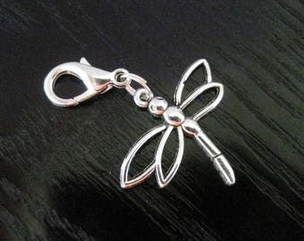 Dragonfly Clip On Journal Planner Charm