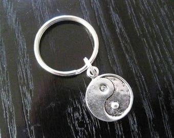 Yin Yang Symbol Key Ring