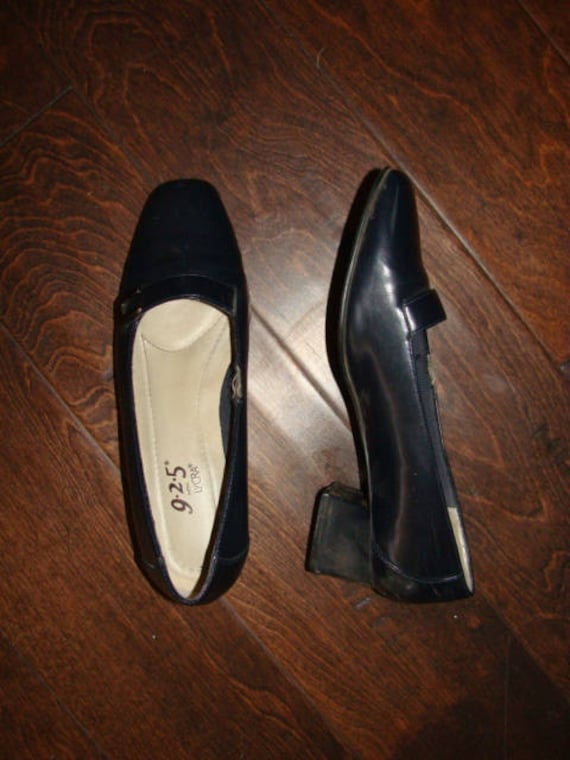 9 2 5 with Lycra Navy Blue Ladies Slip