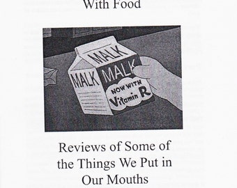 My Complicated Relationship With Food, Vol. One (Zine)